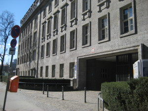 The Front Entrance of the Bendlerblock