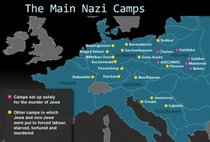 The main Nazi Camps