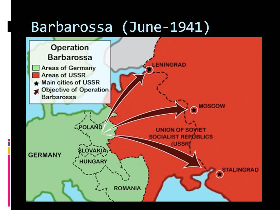 the historical impact of operation barbarosa Best answer: operation barbarossa was the invasion of soviet russia by nazi germany in 1941 for more oil it was significant because it turned the tide of the war.
